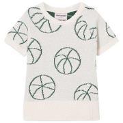 Bobo Choses Basket Ball Knit Sweater Off White 2-3 år