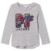Little Marc Jacobs Grey Marl MTV Marc Tee 5 years