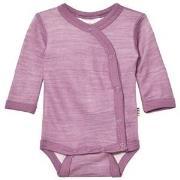 Joha Long Sleeve Wrap Body Purple 70 cm (6-7 mnd)