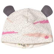 The Bonnie Mob Printed Hat With Ears with Pink Scribble Waves Print 12...
