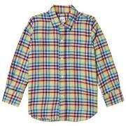 GAP Multicolor Gingham Flannel Shirt M (8 år)