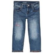 GAP Blue Mid Wash Denim Jeans 18-24 mnd