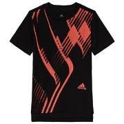 adidas Performance Black & Red Predator T-Shirt 5-6 years (116 cm)