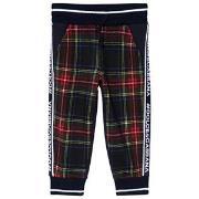 Dolce & Gabbana Red Tartan Sweatpants 2 years
