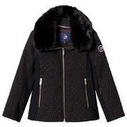 Fusalp Black Montana Ski Jacket 8 years
