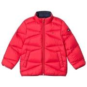 Tommy Hilfiger Red Lightweight Down Padded Coat 8 years
