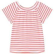 Lands' End Red Striped Knit Top 10-11 years