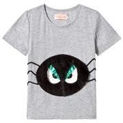 BANGBANG Copenhagen Black and White Spider Grumpy Boy Tee 1-2 years