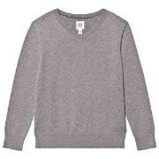 GAP V-Neck Sweater Charcoal Grey XS (4-5 år)