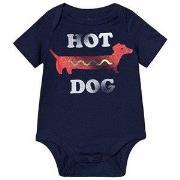 GAP Graphic Baby Body Elysian Blue 0-3 mnd