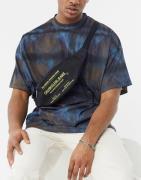 Calvin Klein Jeans Sports Essentials text bum bag in black
